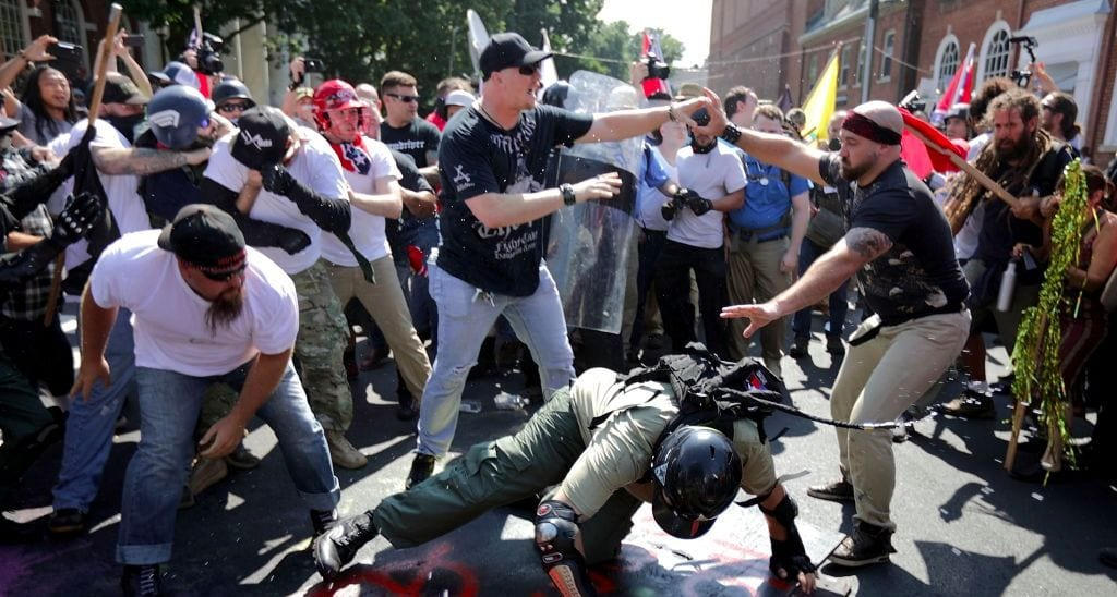 Meeting the Hate of Neo-Nazis with Compassion and Courage