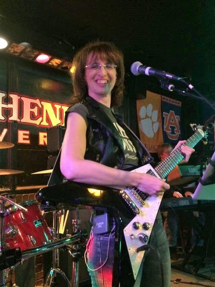 Vicki Flier Hudson Guitar
